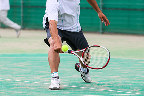 テニスレッグ損傷